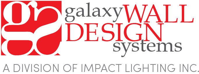 galaxy wall design logo